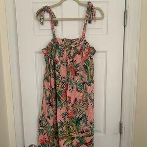 H&M Floral Midi Dress